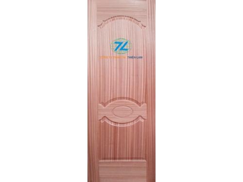 Da cửa hdf 2 panel phủ veneer sapele horizon