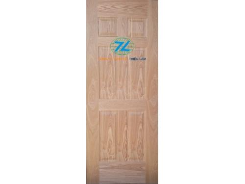 Da cửa hdf 6 panel phủ veneer ash